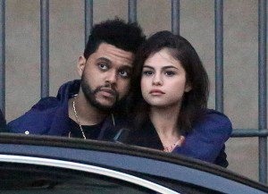 Селена Гомес и The Weeknd. Фото