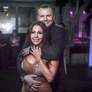 Елена Беркова с мужем. Фото