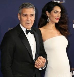 Амаль и Джордж Клуни. Фото