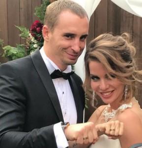 Александра Гозиас и Константин Иванов свадьба. Фото