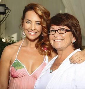 Жанна Фриске с мамой. Фото
