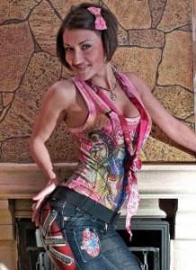 Виктория Берникова до пластики. Фото
