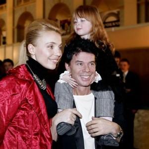 Олег Газманов с семьей. Фото