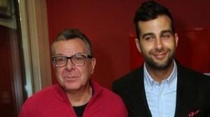 Иван Ургант с отцом. Фото