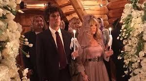 Венчание Аллы Пугачевой и Максима Галкина. Фото