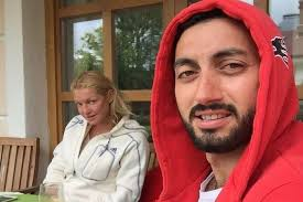 Чермен Дзотов с Анастасией Волочковой