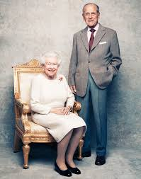 Елизавета 2 и Филипп. Фото