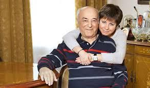 Владимир Этуш с женой. Фото
