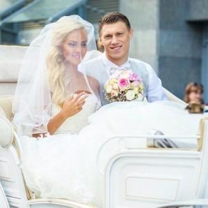 Мария Погребняк, свадьба. Фото