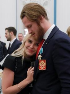 Пелагея с мужем 2018