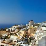 Oia village on Santorini island, Greece.