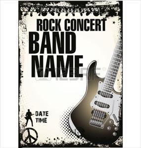 19510891-rock-concert-poster